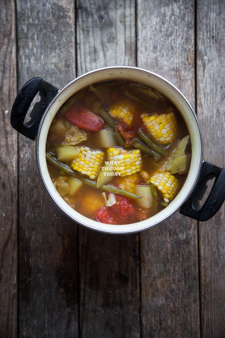 Sayur Asem (Indonesian Vegetable Tamarind Soup)