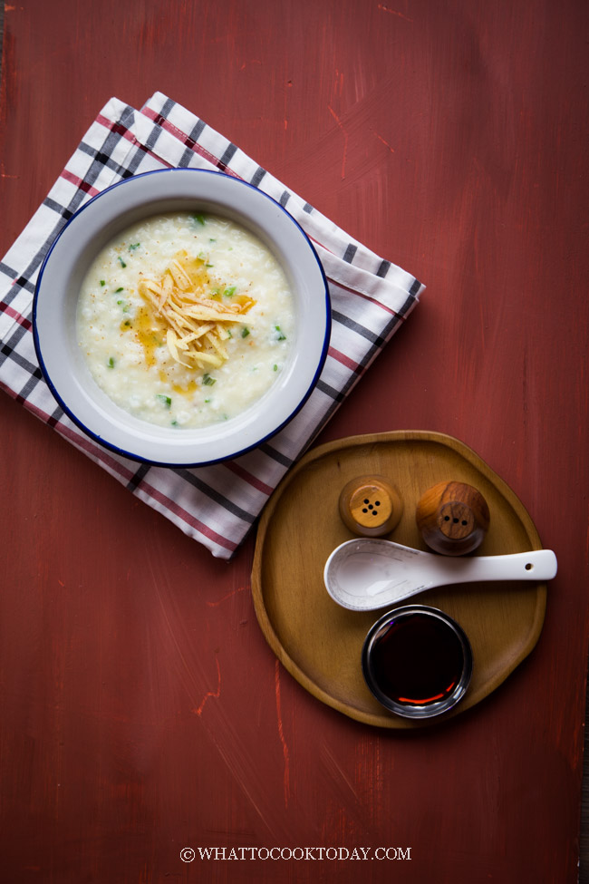 How to Make Basic Asian Rice Porridge (Congee)