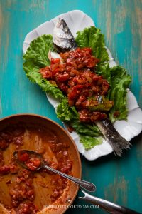 Mom's Quick and Easy Sambal Tomat Ikan (Indonesian Fish Sambal)