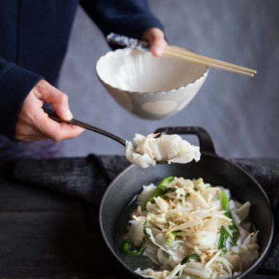 San Lau Hor Fun (Three-tossed Flat Rice Noodles)