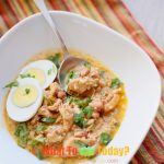 MOROCCAN CHICKEN SOUP WITH COUSCOUS
