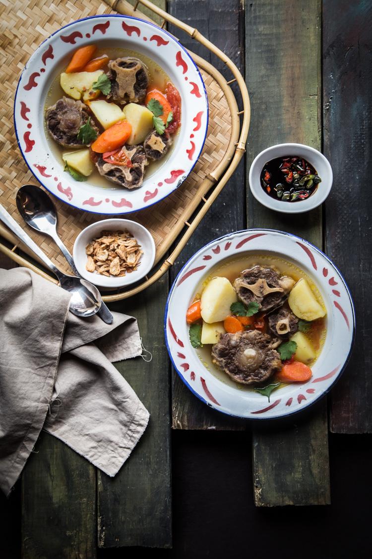 Javanese Oxtail Soup (Sop Buntut)