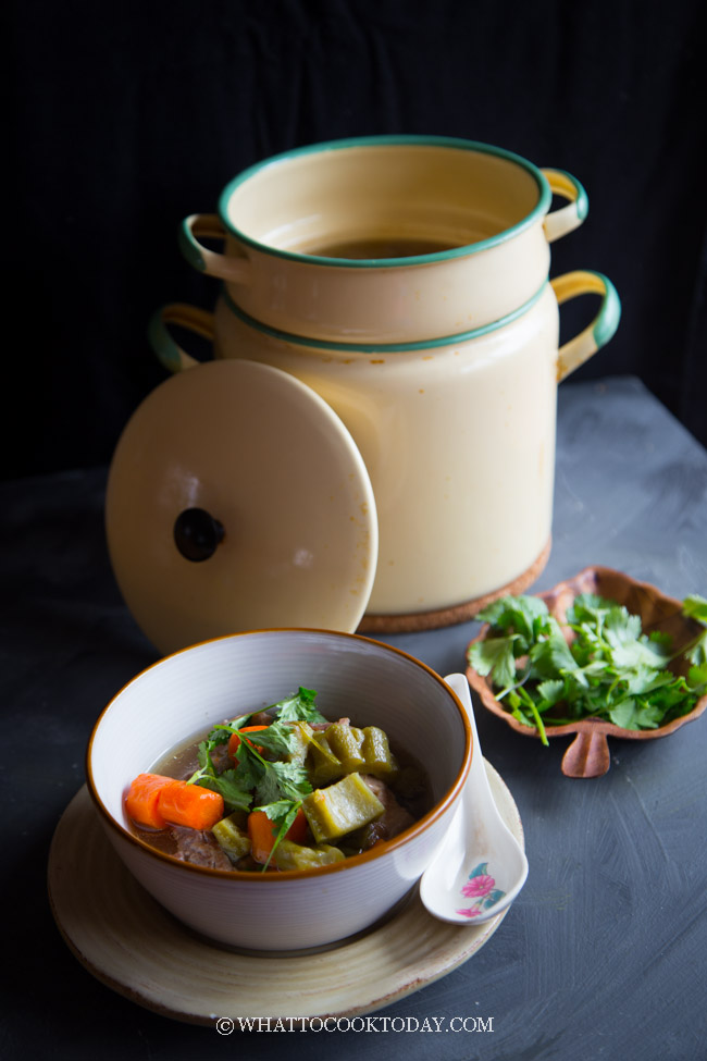 Pork Ribs Bitter Melon Soup (Double Boiler or Pressure Cooker)