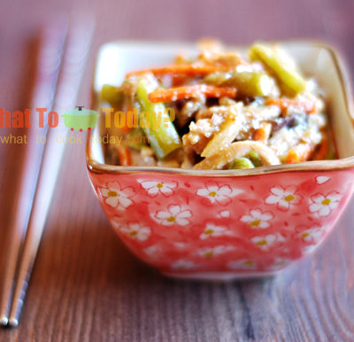 STIR-FRY CHICKEN WITH GINGER