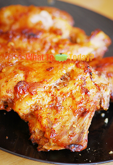 BAKED TURKEY WITH SPICY SAUCE