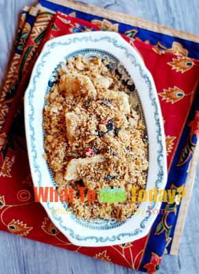 BUTTER OATS PAN-FRIED FISH