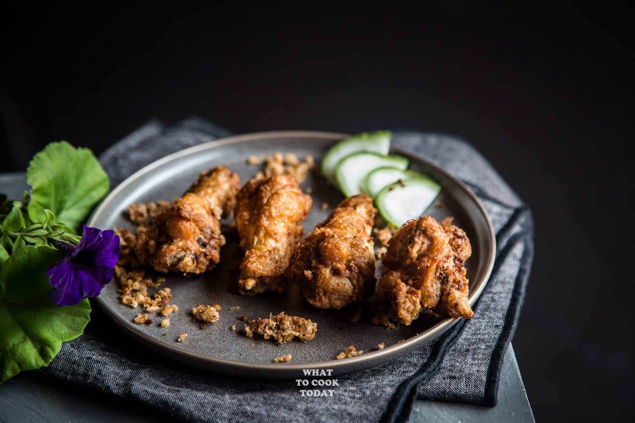 Ultra Crispy Shrimp Paste Chicken (Har Cheong Gai)