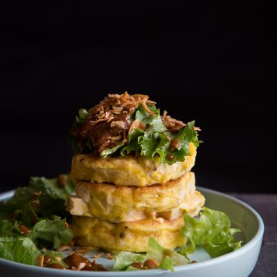Tahu Telur (Indonesian Tofu Omelette Salad)