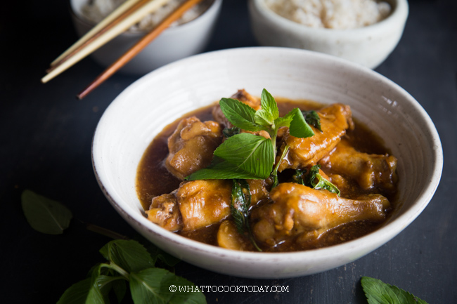 How To Make Instant Pot Three Cup Chicken (San Bei Ji)