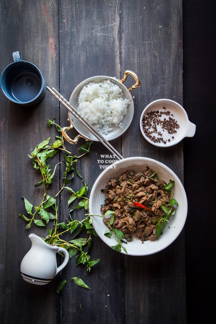 Burmese Kachin Pounded Beef