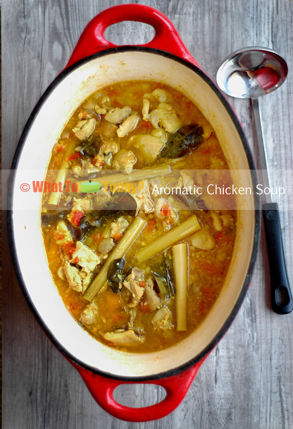 Aromatic Lemongrass Chicken Soup