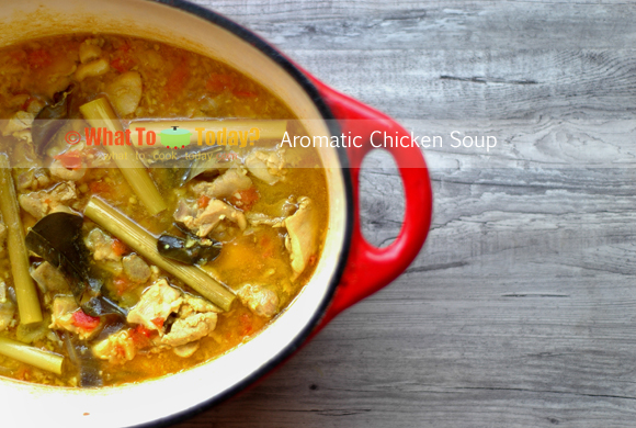 AROMATIC CHICKEN SOUP
