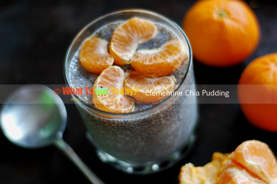 CLEMENTINE CHIA PUDDING