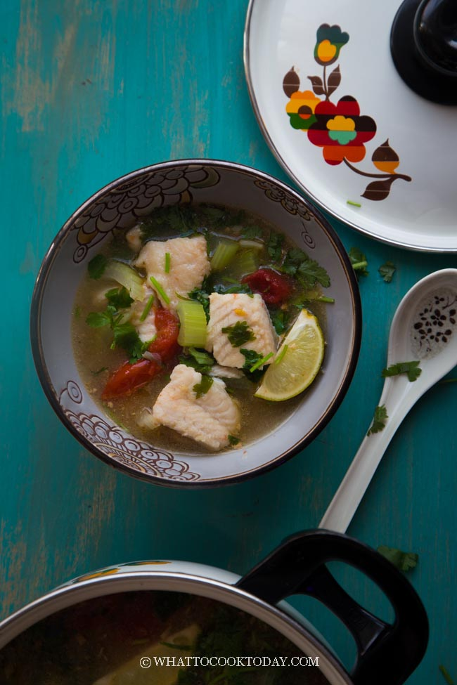 Easy and Quick Asian Fish Soup