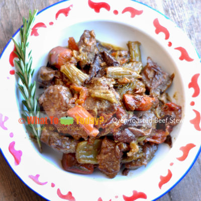 how to cook beef cubes in oven