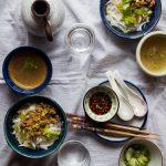 Hakka Minced Meat Lau Shu Fun / Loh Shi Fun