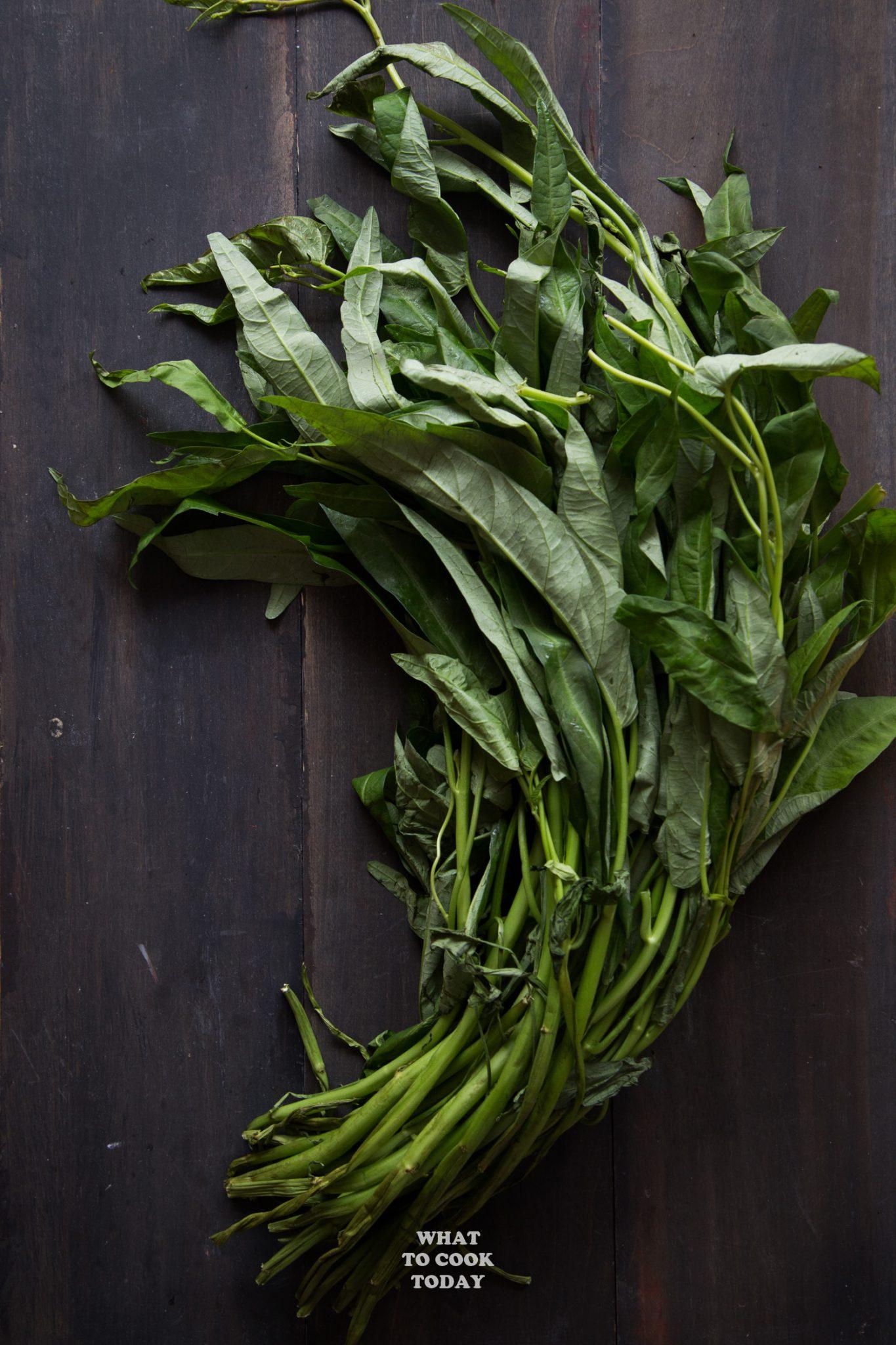 Kangkung / Water Spinach #Prawn #shrimp #noodle