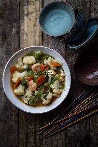 Cap Chay/ Indonesian Stir-fried Vegetable