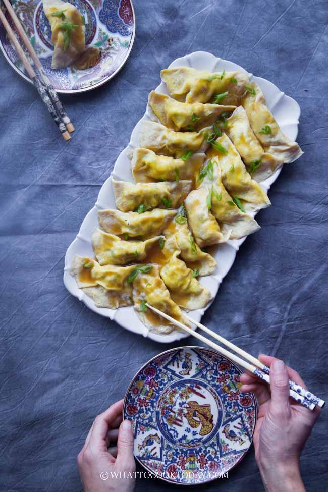 Chinese Egg Dumplings (Dan jiao) #eggdumplings #chinesedumplings #chineseeggdumplings #danjiao