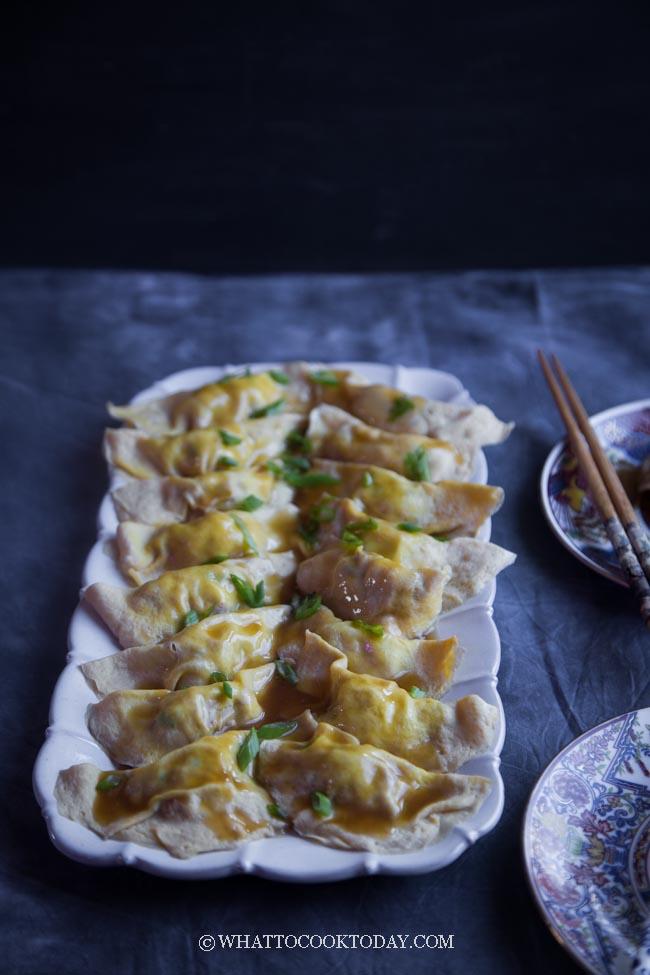 Chinese Egg Dumplings (Dan jiao)