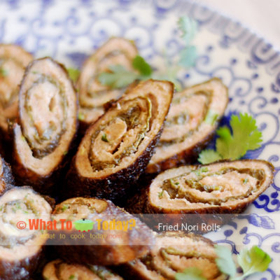 FRIED NORI ROLLS