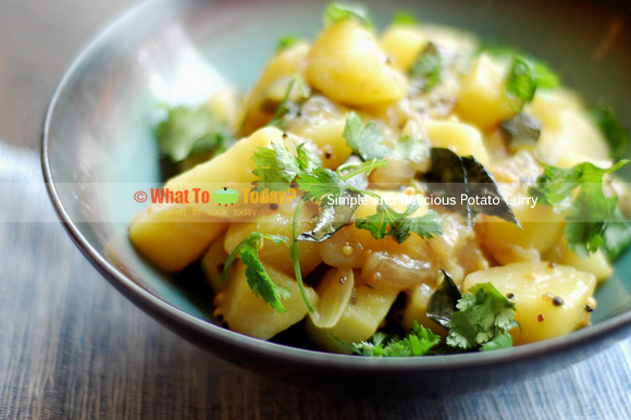 SIMPLE AND DELICIOUS POTATO CURRY