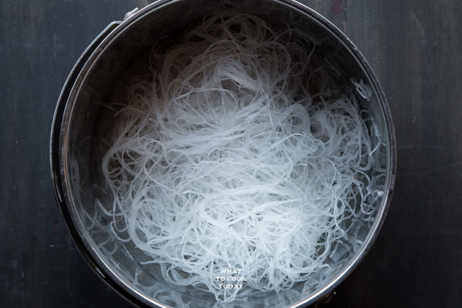 cellophane noodle / glass noodle / bean thread noodle after soaked