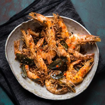 Cereal Butter Prawn (Mai Pian Xia)