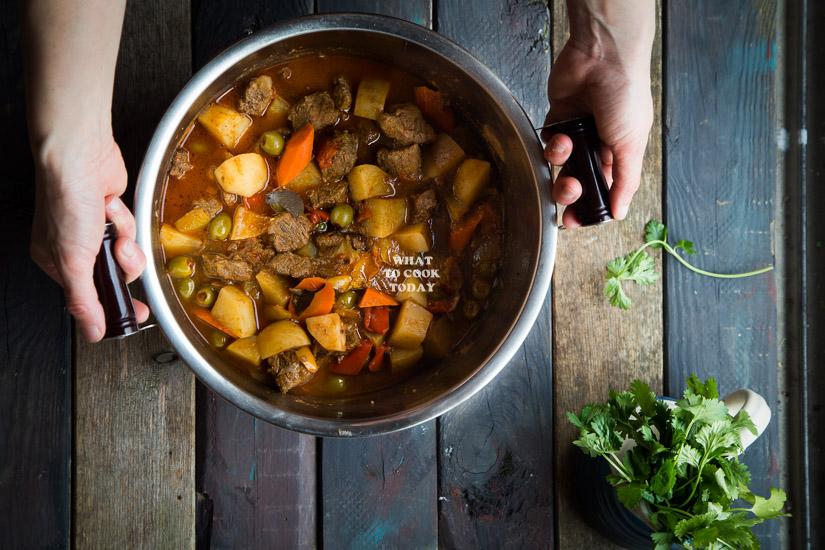 Carne Guisada / Puerto Rican Beef Stew