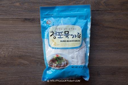 mung bean starch/flour