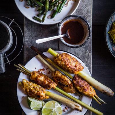Sate Lilit Bali (Minced Meat Satay)