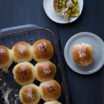 Amazingly Soft Chicken Potato Curry Milk Buns (Tang Zhong Method)