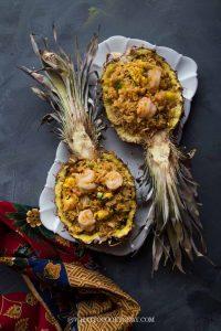 Thai Pineapple Fried Rice (Khao Pad Sapparod)