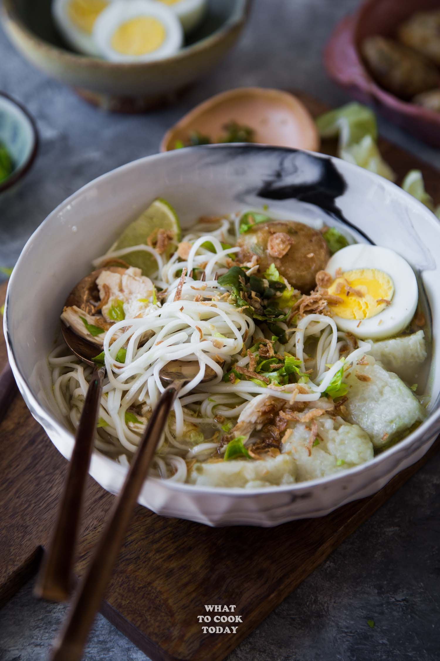 Soto Banjar (South Kalimantan Chicken Noodle Soup) #instantpot #pressurecooking #chickensoup #sotobanjar #indonesianfood