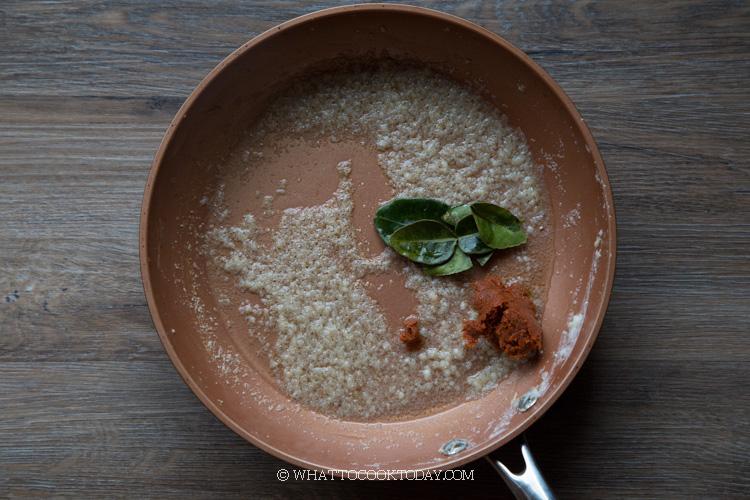 Thai Seared Scallop Choo Chee Curry