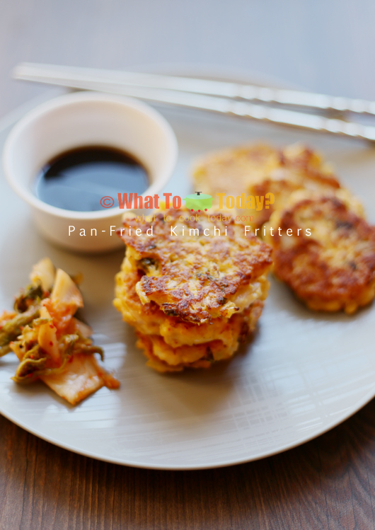 Kimchi Fritters With Soy Dipping Sauce Recipes — Dishmaps
