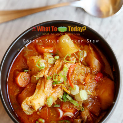 KOREAN-STYLE CHICKEN STEW