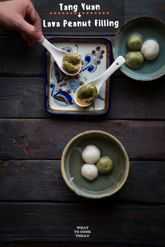 Tang Yuan with Lava Peanut Filling