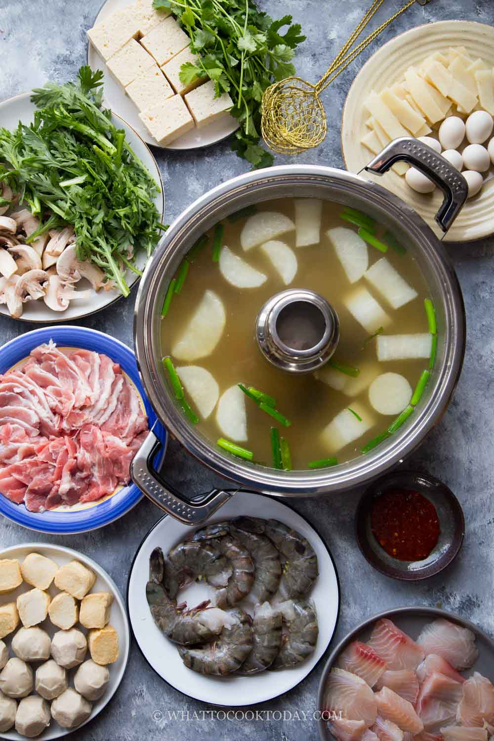 How To Prepare Easy Chinese Steamboat /Hot Pot