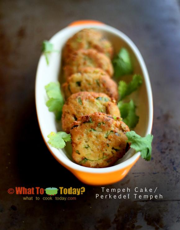 TEMPEH CAKE / PERKEDEL TEMPEH