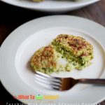 ZUCCHINI WITH QUINOA AND PEANUTS PANCAKE