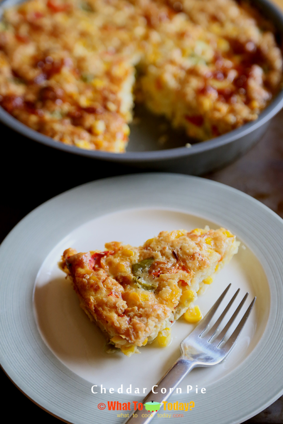 CHEDDAR CORN PIE