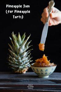 Selai Nenas Nastar (Pineapple Jam for Pineapple tarts)
