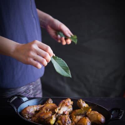 Chicken Adobo (Vinegar-braised chicken)