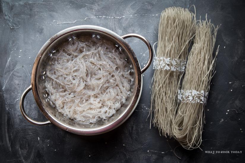 Korean Dangmyeon (Glass Noodles)