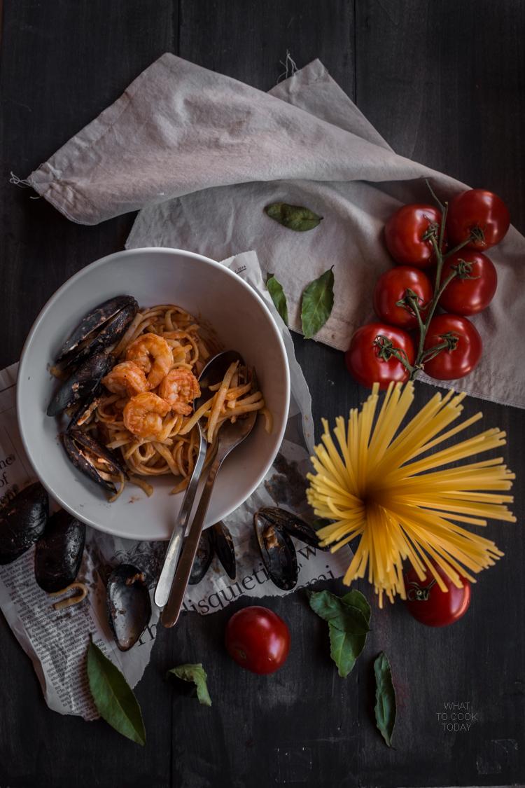 Linguine frutti di mare #pasta #foodphotography