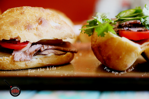 EASY ROAST BEEF BANH MI