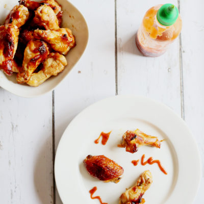 HONEY AND SOY SAUCE BAKED WINGS