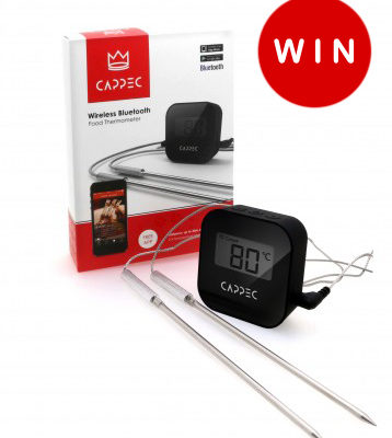 Cappec Bluetooth BBQ Thermometer Giveaway (CLOSED)