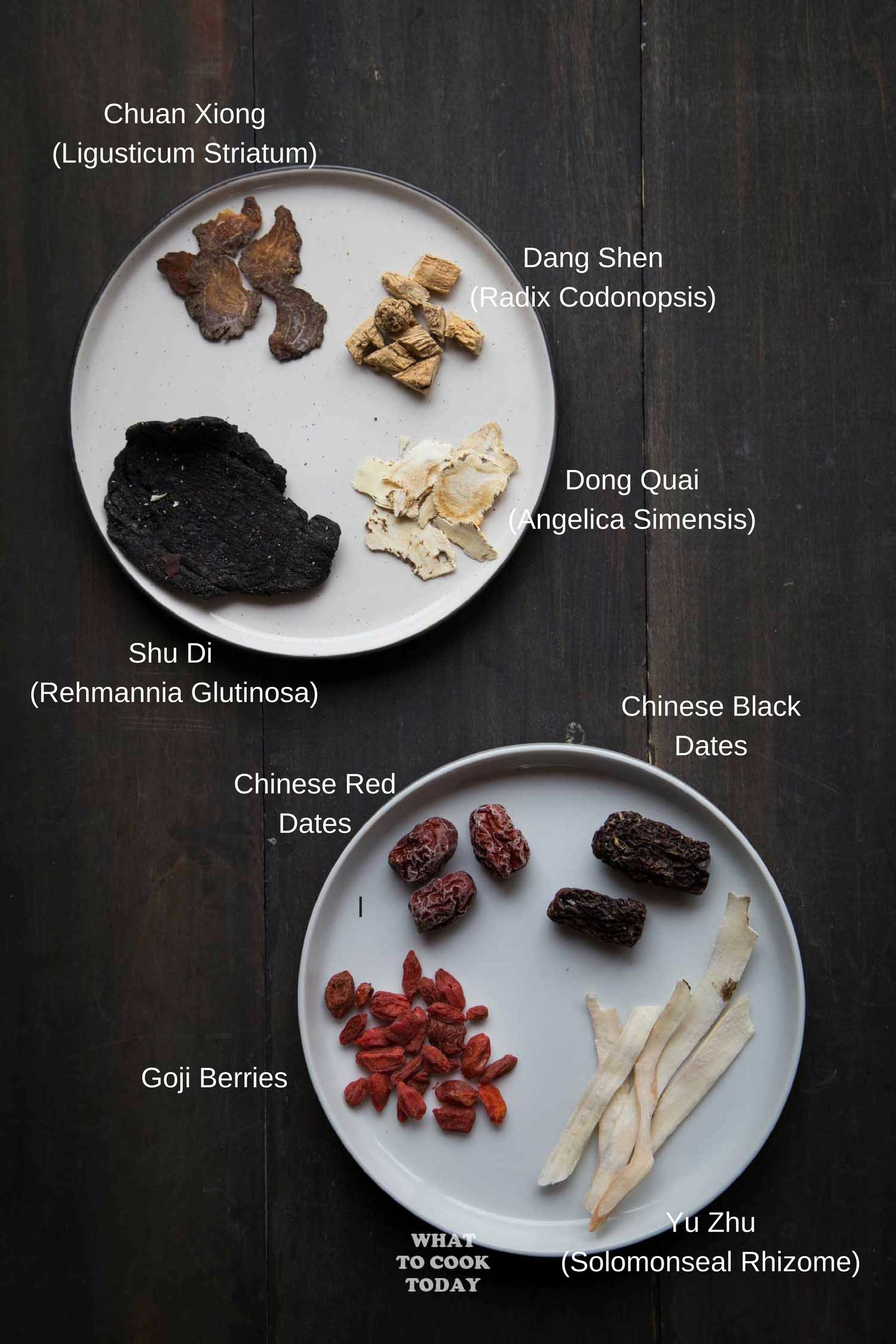 Chinese Four Herbs Soup (Sibut)